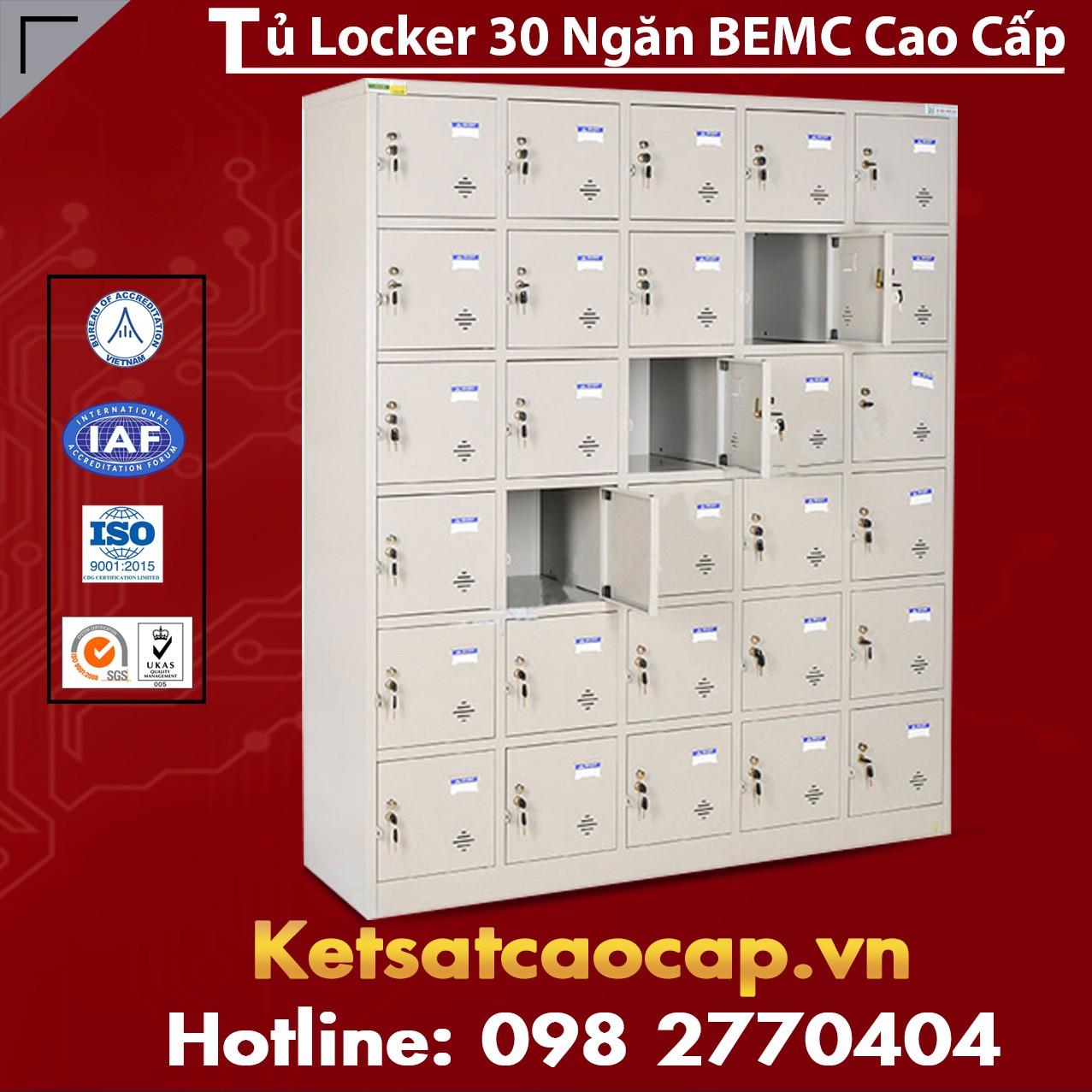 Tủ Locker 30 Ngăn BEMC
