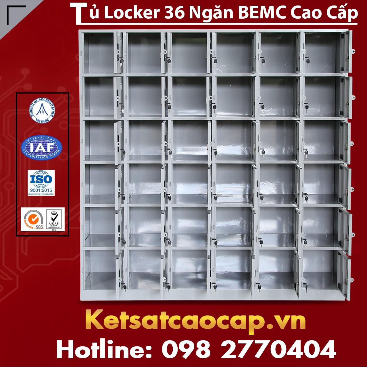 Tủ Locker BEMC Nhiều Mẫu Mã