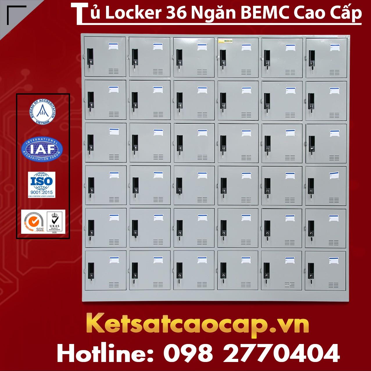 Tủ Locker 36 Ngăn BEMC