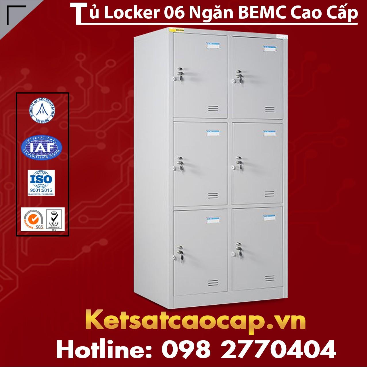 Tủ Locker  6 Ngăn BEMC