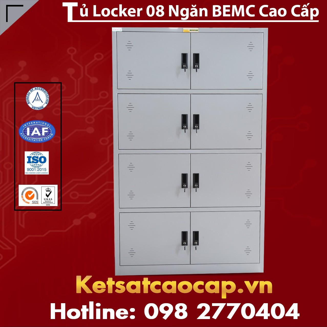 Tủ Locker 8 Ngăn BEMC