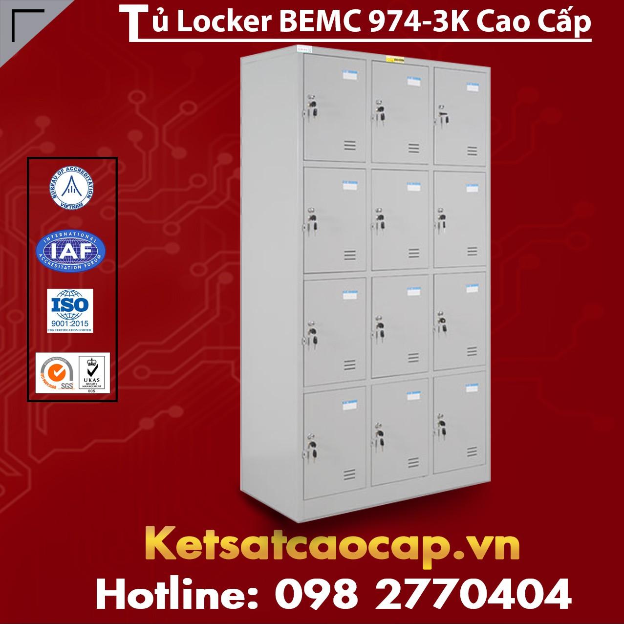 Tủ Locker BEMC 974-3K