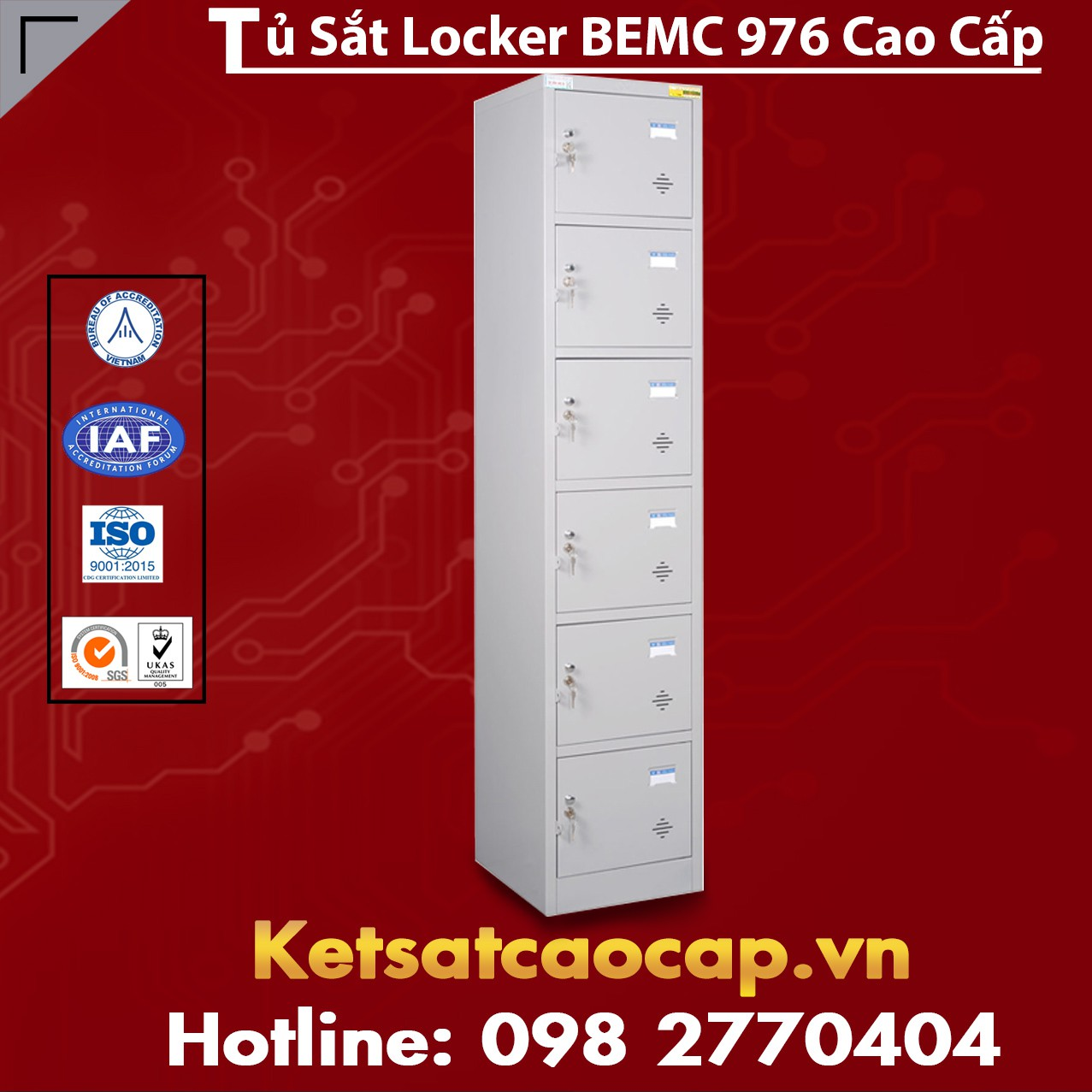 Tủ Locker BEMC 976