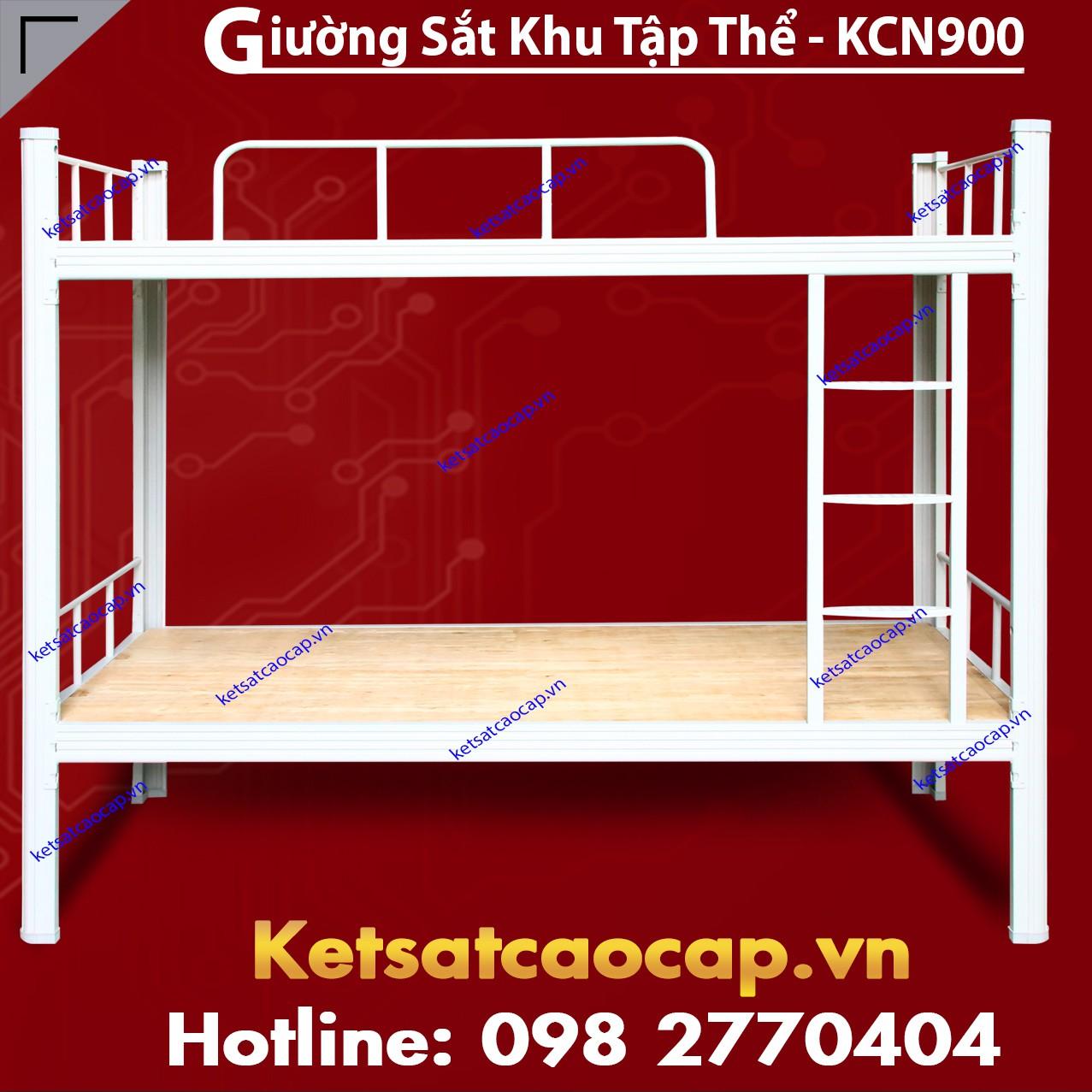 Giường Sắt Khu Tập Thể - KCN900