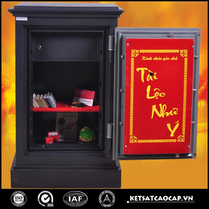 đặc điểm sản phẩm két sắt an toàn KN170 đen đổi mã