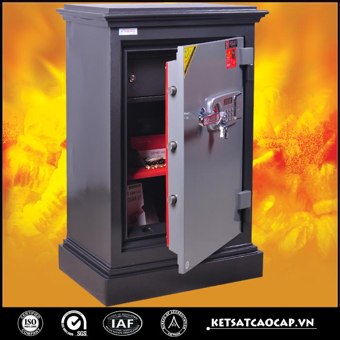 đặc điểm sản phẩm két sắt an toàn KN170 đen điện tử