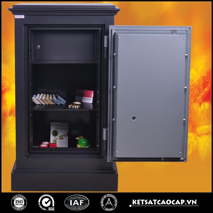 két sắt an toàn KN240 đen điện tử