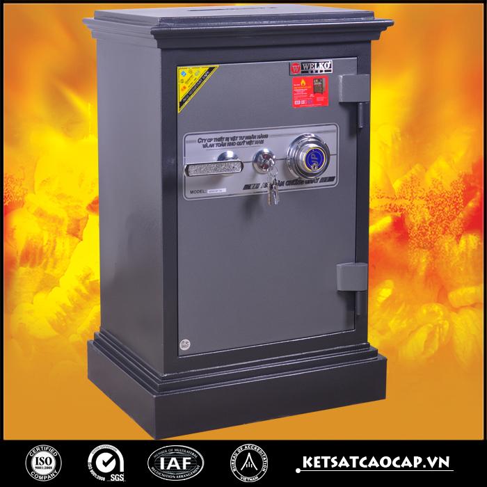 đặc điểm sản phẩm két sắt an toàn Kn54 đen đổi mã công đức