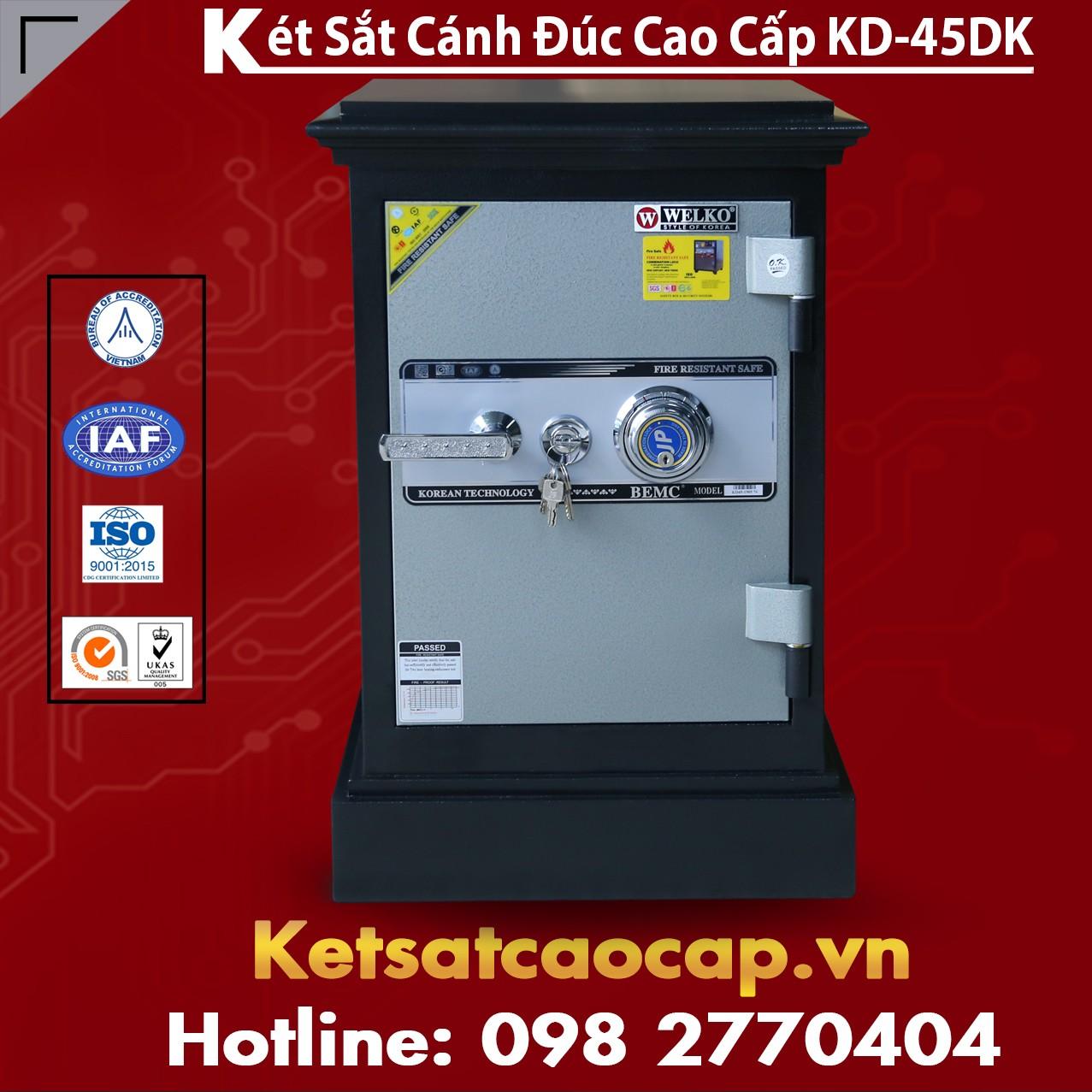 Két Sắt Cánh Đúc KD45 DK Bảo Vệ TS Tốt Nhất Hiện Nay
