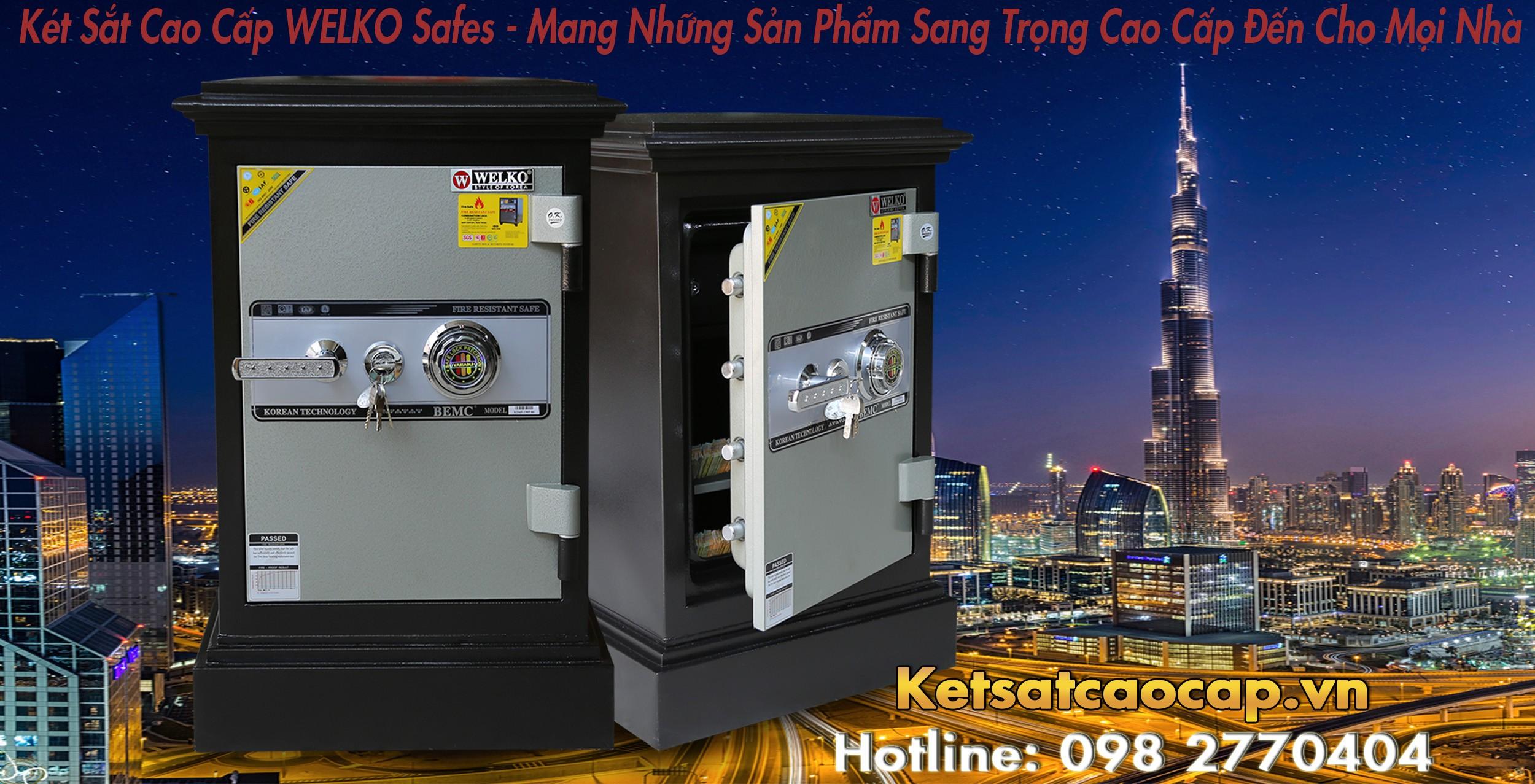 hình ảnh sản phẩm Két Sắt Cánh Đúc KD45 KC Két Bảo Mật 100% Uy Tín
