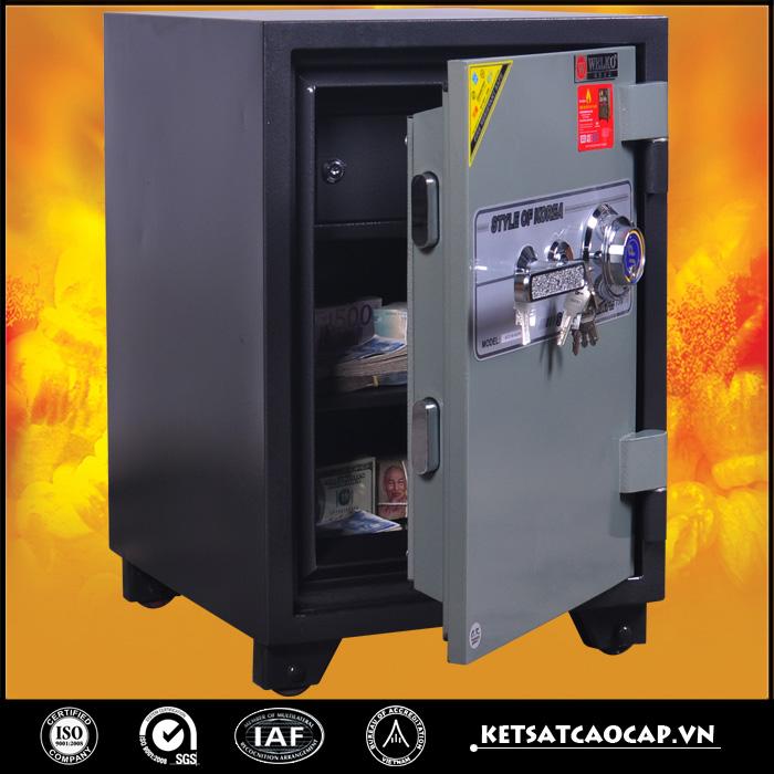 đặc điểm sản phẩm Két Sắt Chống Cháy KCC110 DM