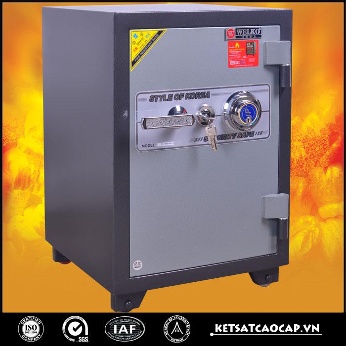 đặc điểm sản phẩm Két sắt chống cháy kcc120  DM