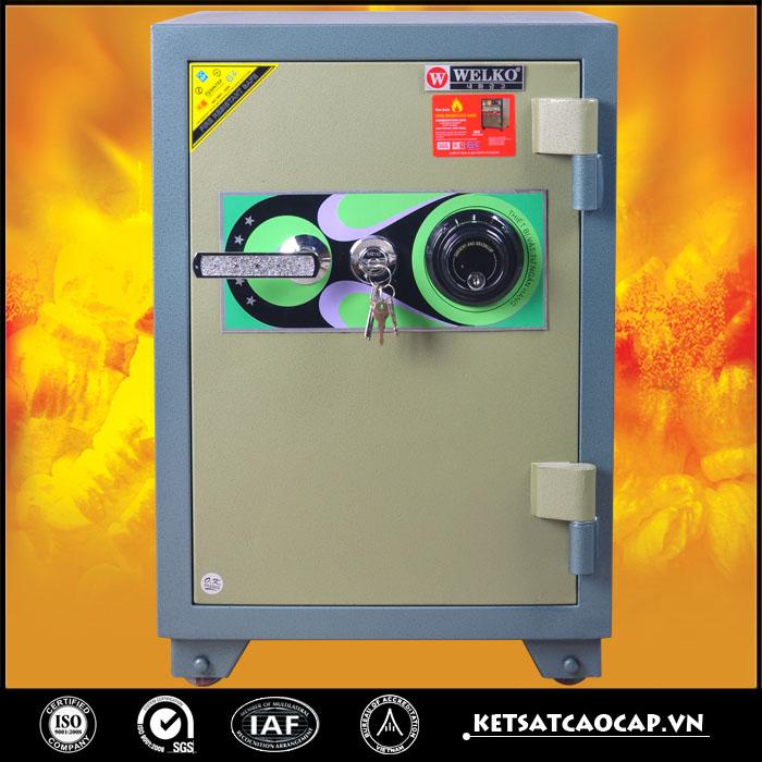 Két sắt chống cháy kcc120 DM Xanh