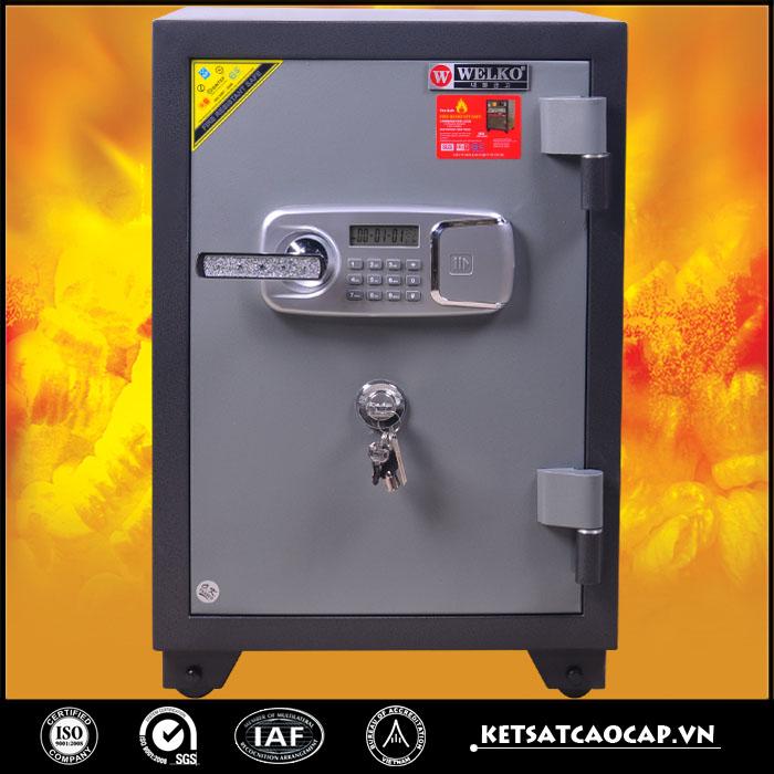So sánh két sắt khóa cơ, két sắt chống cháy và két sắt chống nước