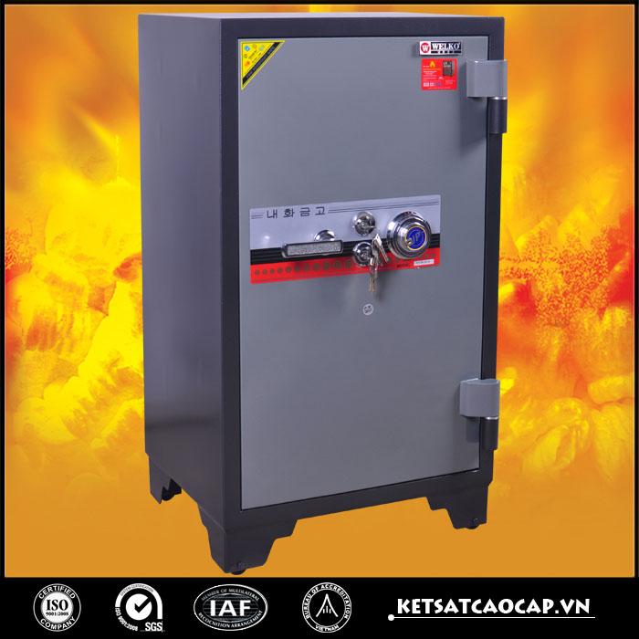 hình ảnh sản phẩm Két sắt chống cháy kcc200  DM