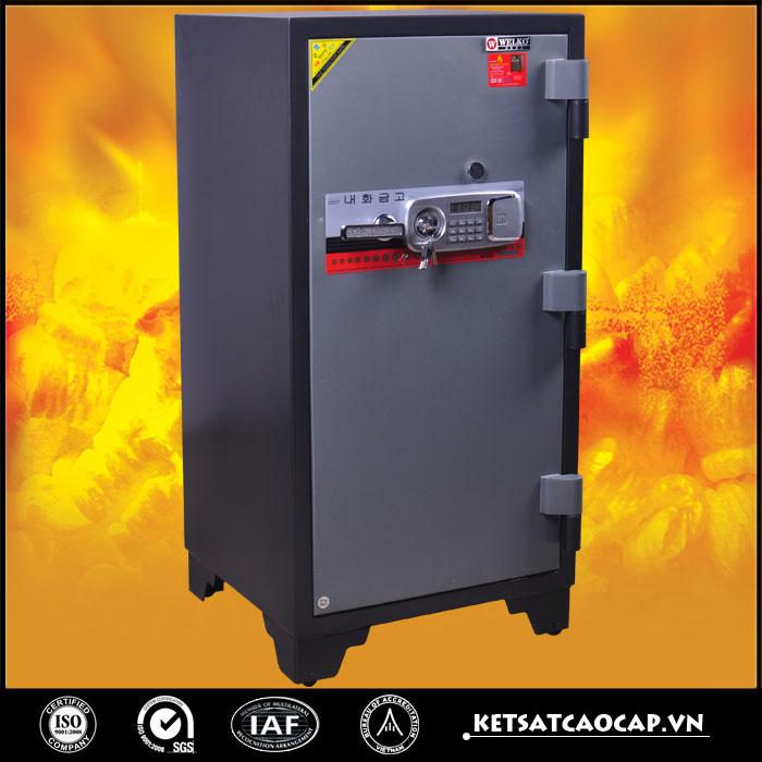 đặc điểm sản phẩm Két Chống Cháy KCC240  DT