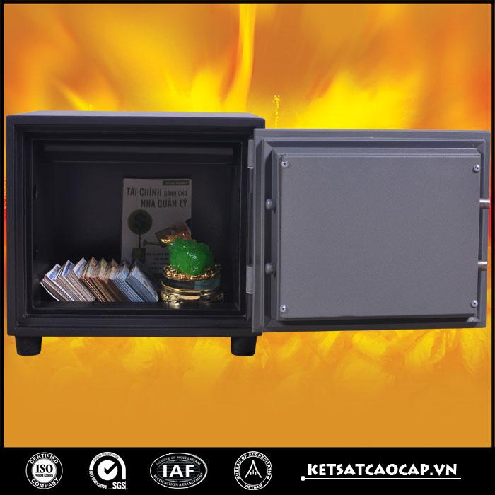 đặc điểm sản phẩm Két sắt chống cháy KCC 38 KC