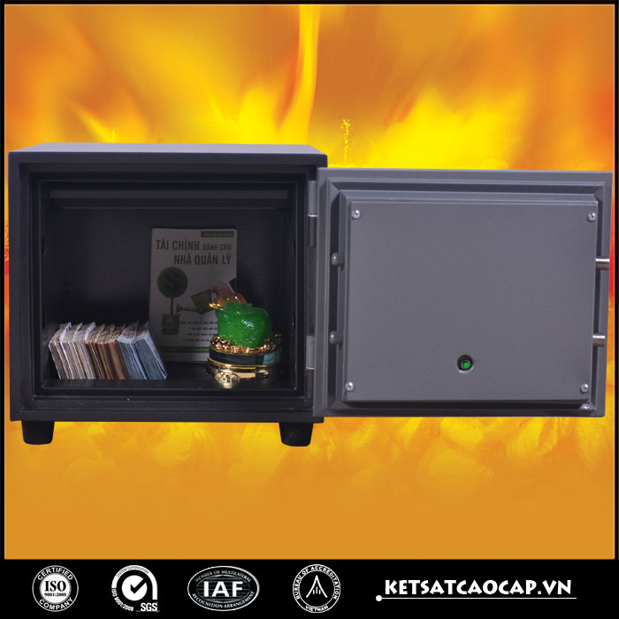 đặc điểm sản phẩm Két sắt chống cháy KCC 41 ĐT