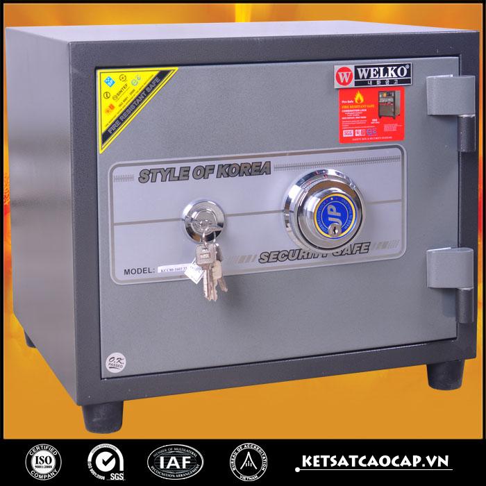 hình ảnh sản phẩm Két sắt chống cháy KCC 60 ĐM
