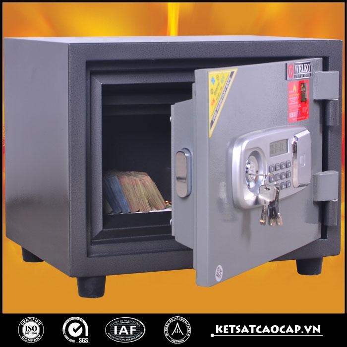 đặc điểm sản phẩm Két sắt chống cháy KCC 60 Điện Tử