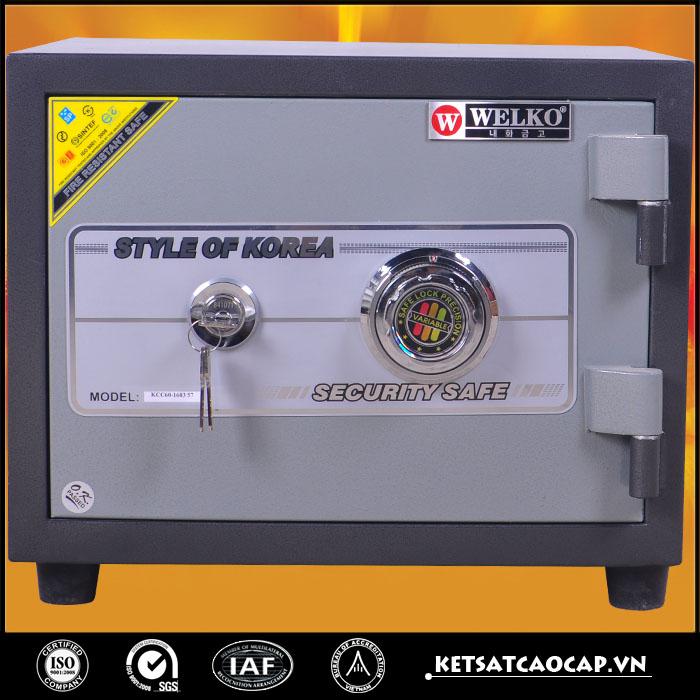 két sắt chống cháy mini kcc110VT hà nội