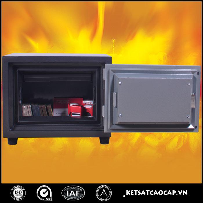 đặc điểm sản phẩm Két sắt chống cháy KCC 60 KC