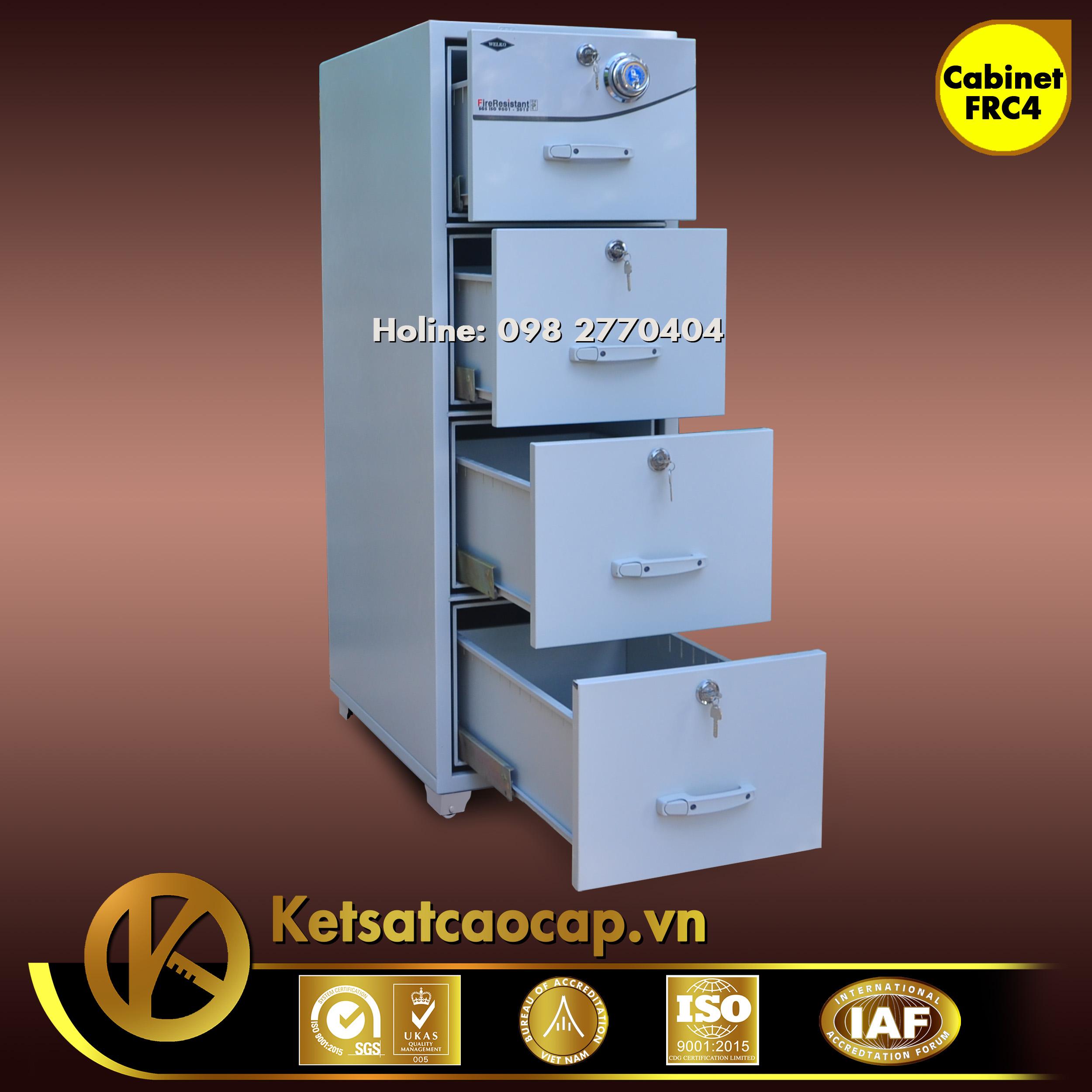 Tủ Hồ Sơ Chống Cháy FRC4 Cabinet