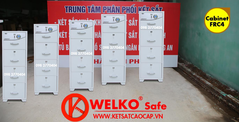 hình ảnh sản phẩm Tủ Hồ Sơ Chống Cháy FRC4 Cabinet