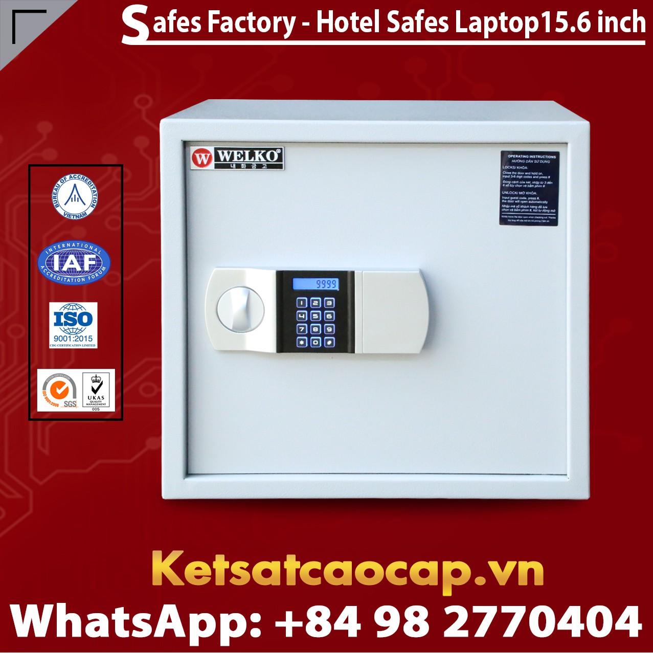 Két Sắt Khách Sạn Hotel Safes WELKO Laptop 15.6 Inch