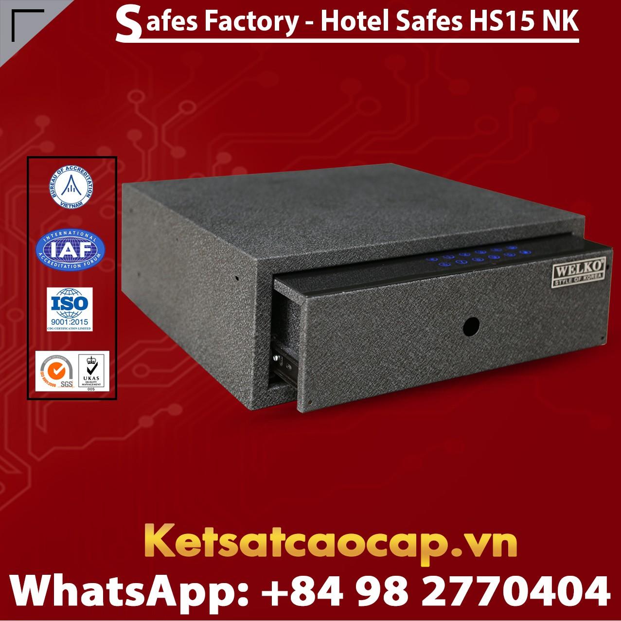 Két Sắt Khách Sạn Hotel Safes WELKO HS15 NK