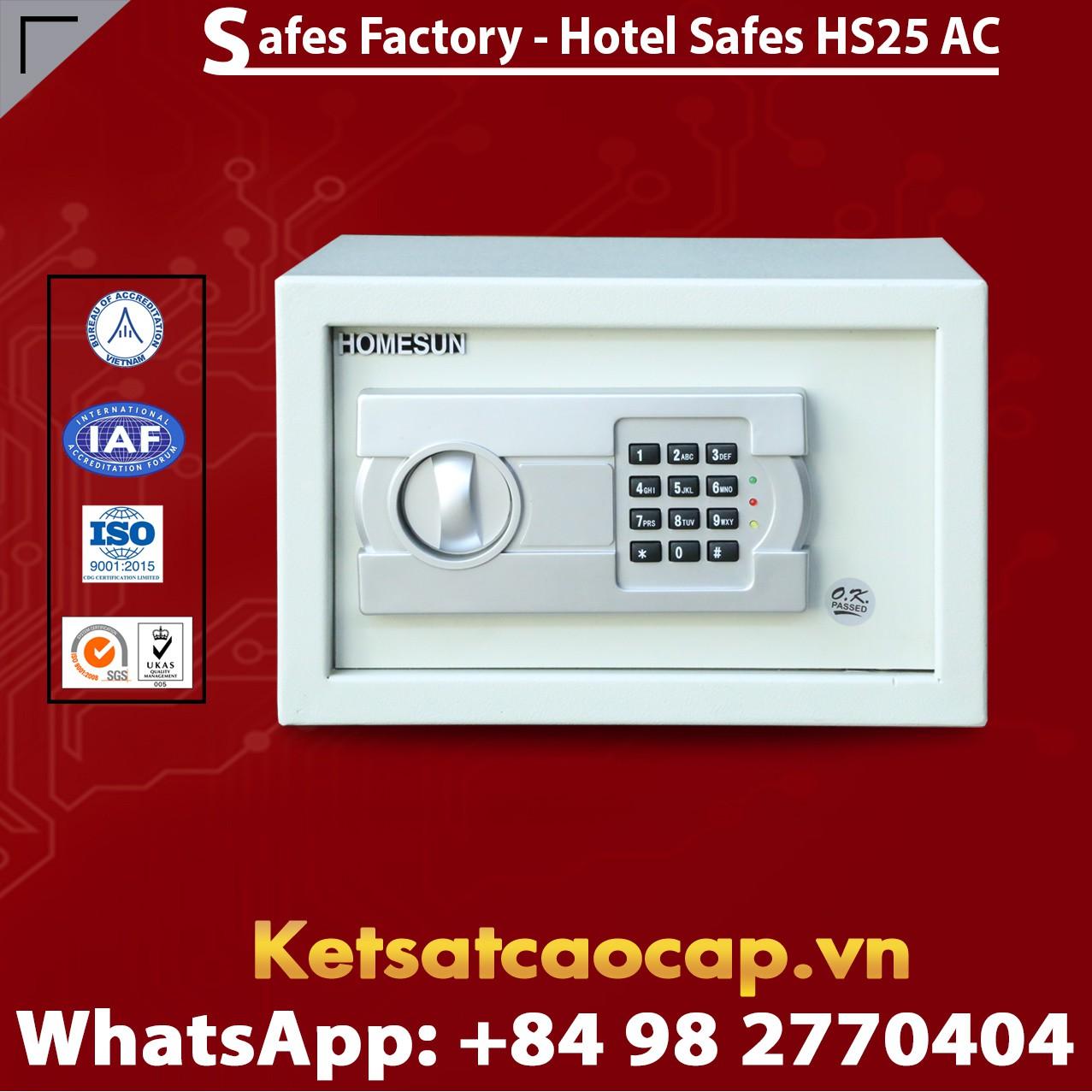 Két Sắt Khách Sạn Hotel Safes HOMESUN HS25 AC