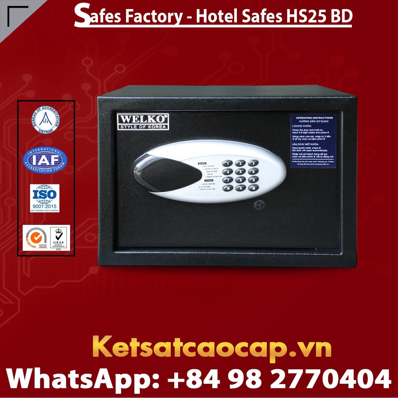 Két Sắt Khách Sạn Hotel Safes WELKO HS25 BD