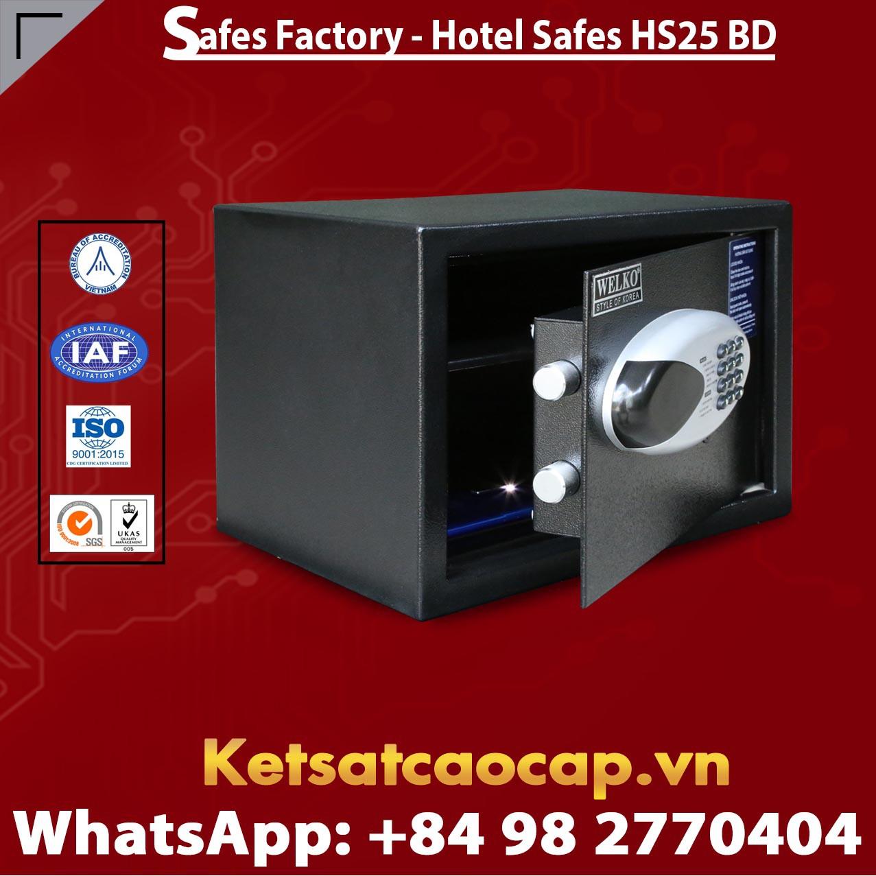 Hotel Safes  WELKO HS25 BD