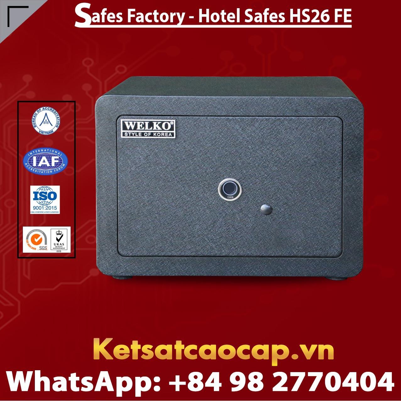 Két Sắt Khách Sạn Hotel Safes WELKO HS26 FE