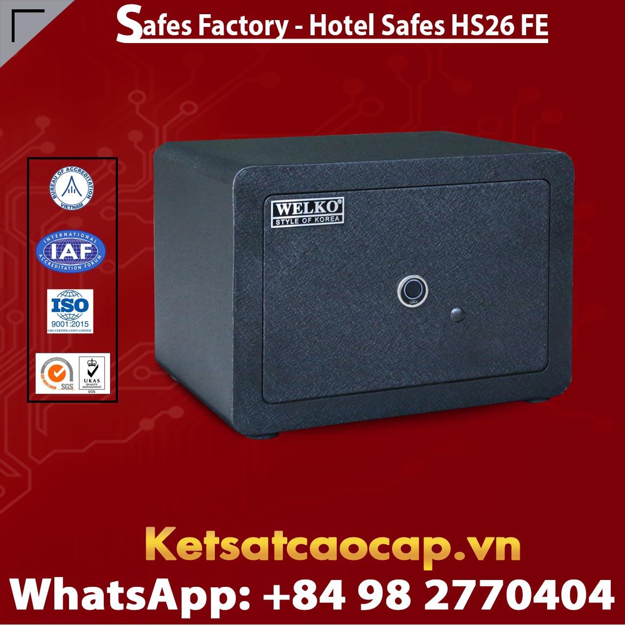 Hotel Safes  WELKO HS26 FE