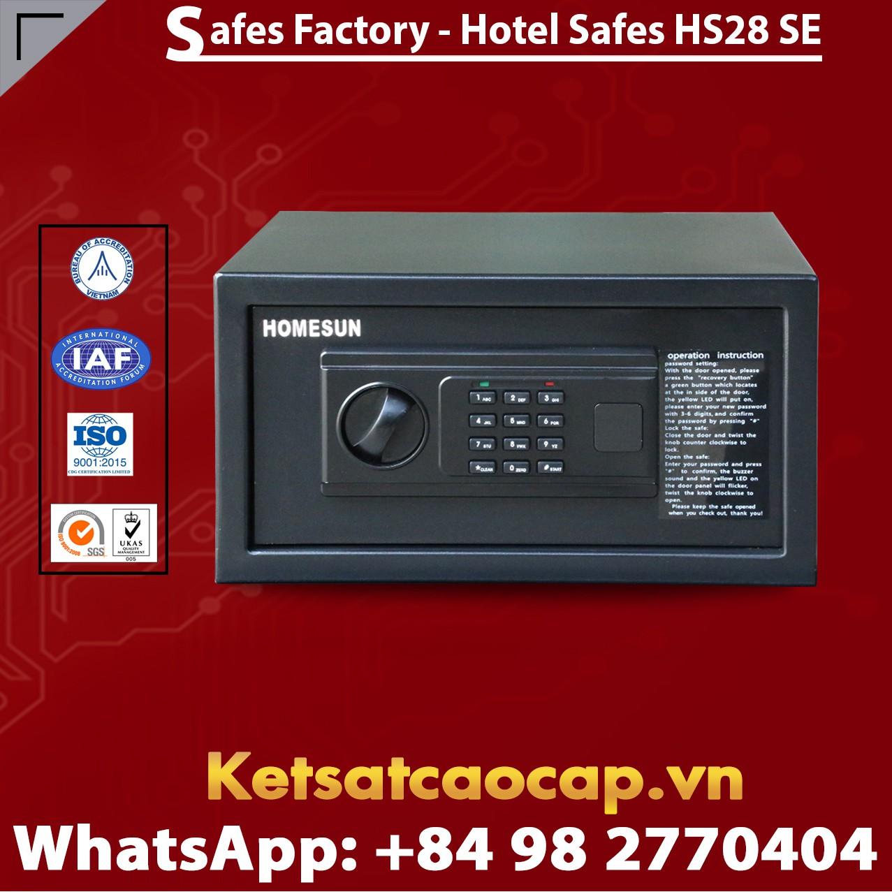 Két Sắt Khách Sạn Hotel Safes HOMESUN HS28 SE