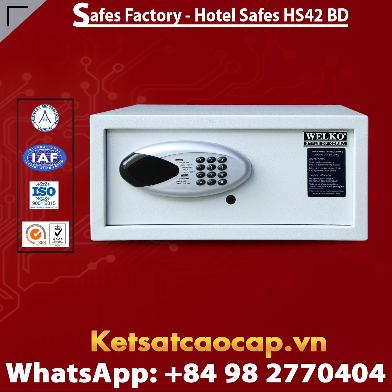 Két Sắt Khách Sạn Hotel Safes WELKO HS42 BD