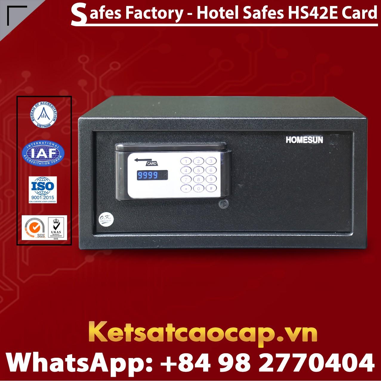 Két Sắt Khách Sạn Hotel Safes HOMESUN HS42 E Card