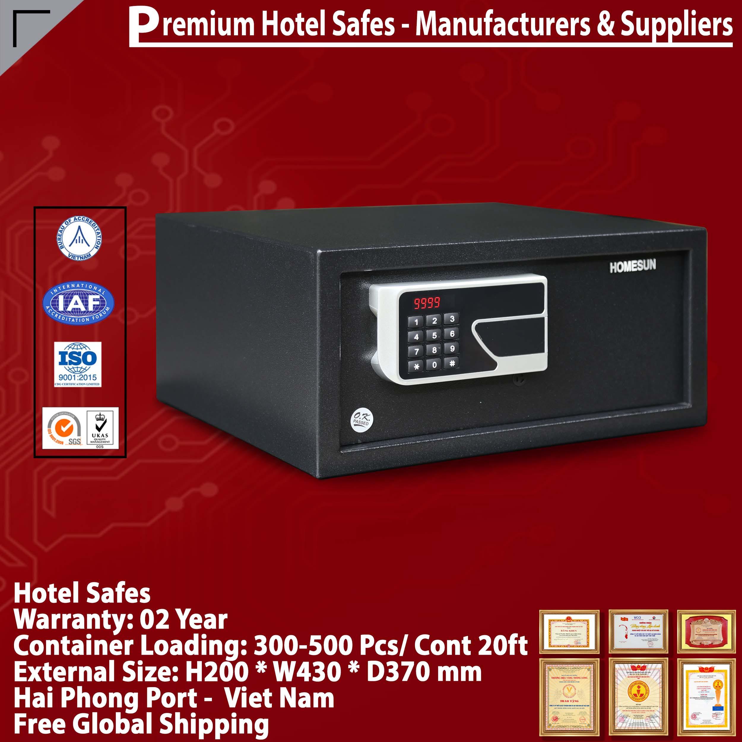 Hotel Safe Lock