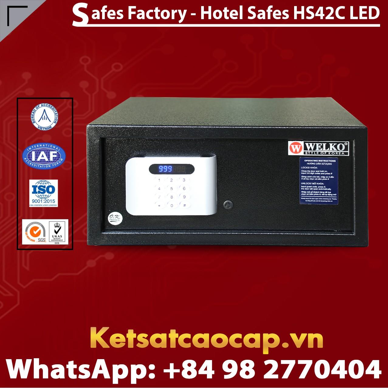 Két Sắt Khách Sạn Hotel Safes WELKO HS42 C LED