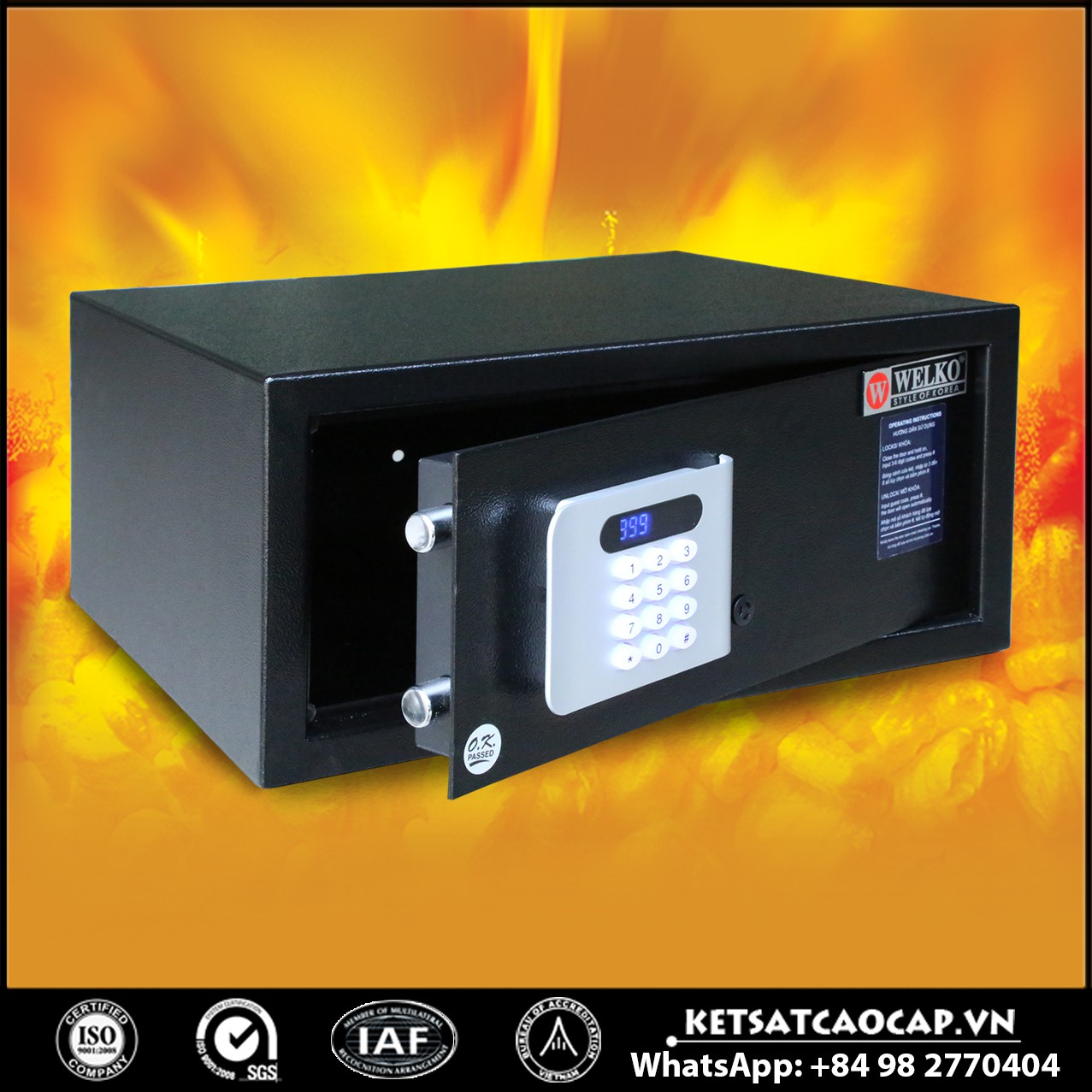 Hotels / In Room and Dorm Room Safes