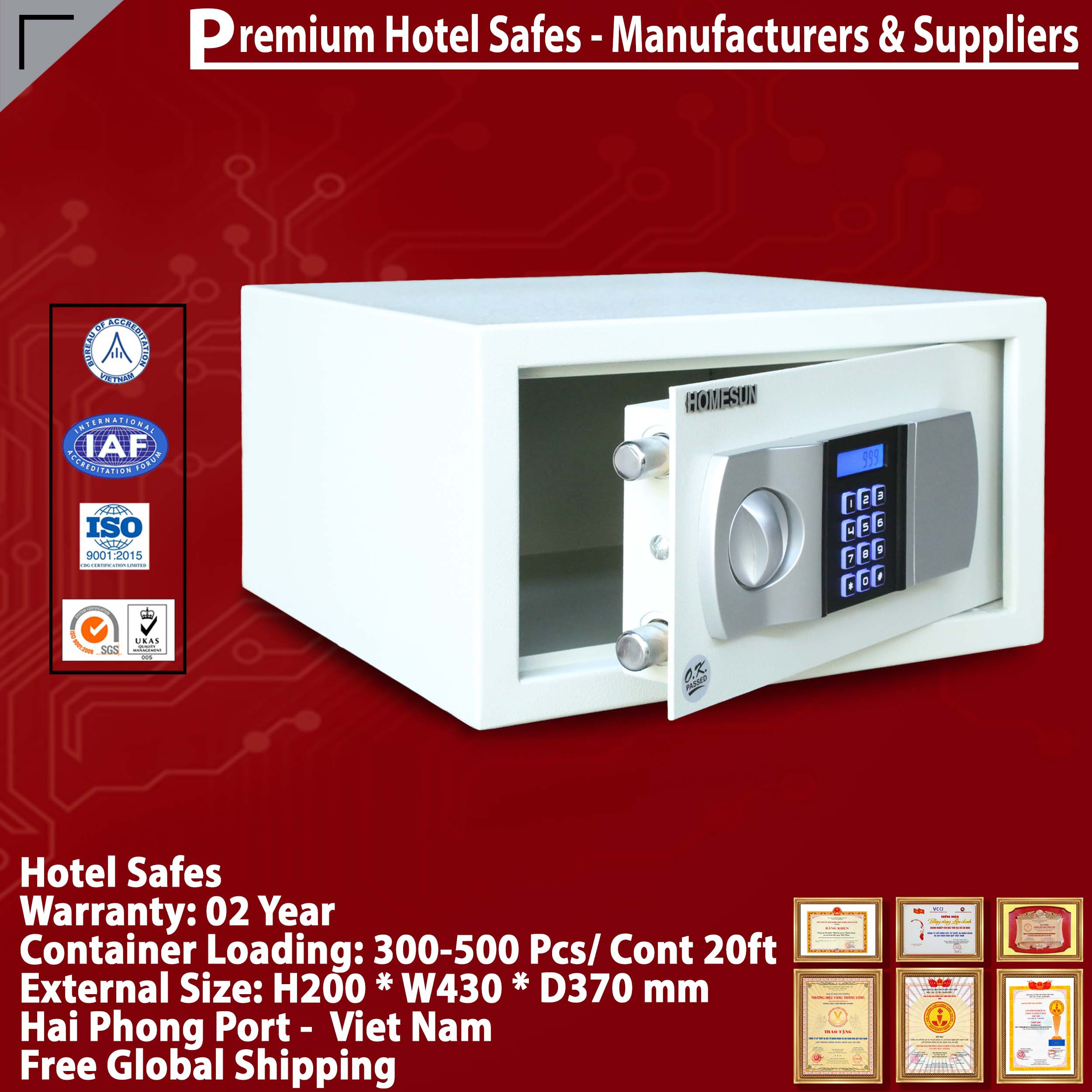 Hotel Safe - Factory Direct/Excellent Price