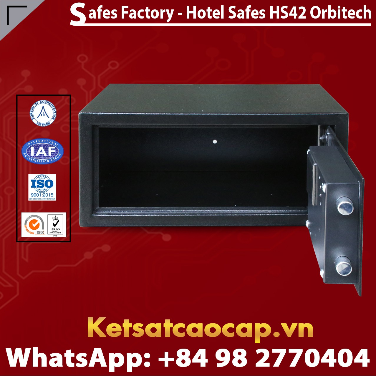 Hotel Safes WELKO HS42 Orbitech