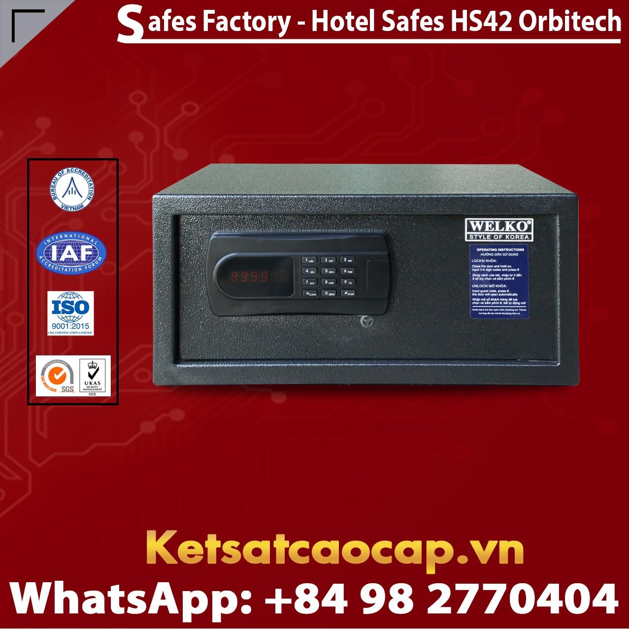Két Sắt Khách Sạn Hotel Safes WELKO HS42 Orbitech