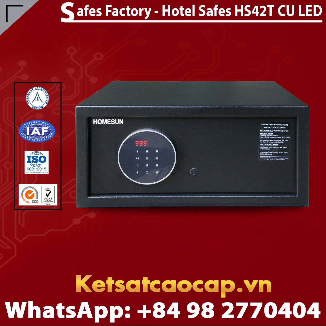 Két Sắt Khách Sạn Hotel Safes HOMESUN HS42T CU LED