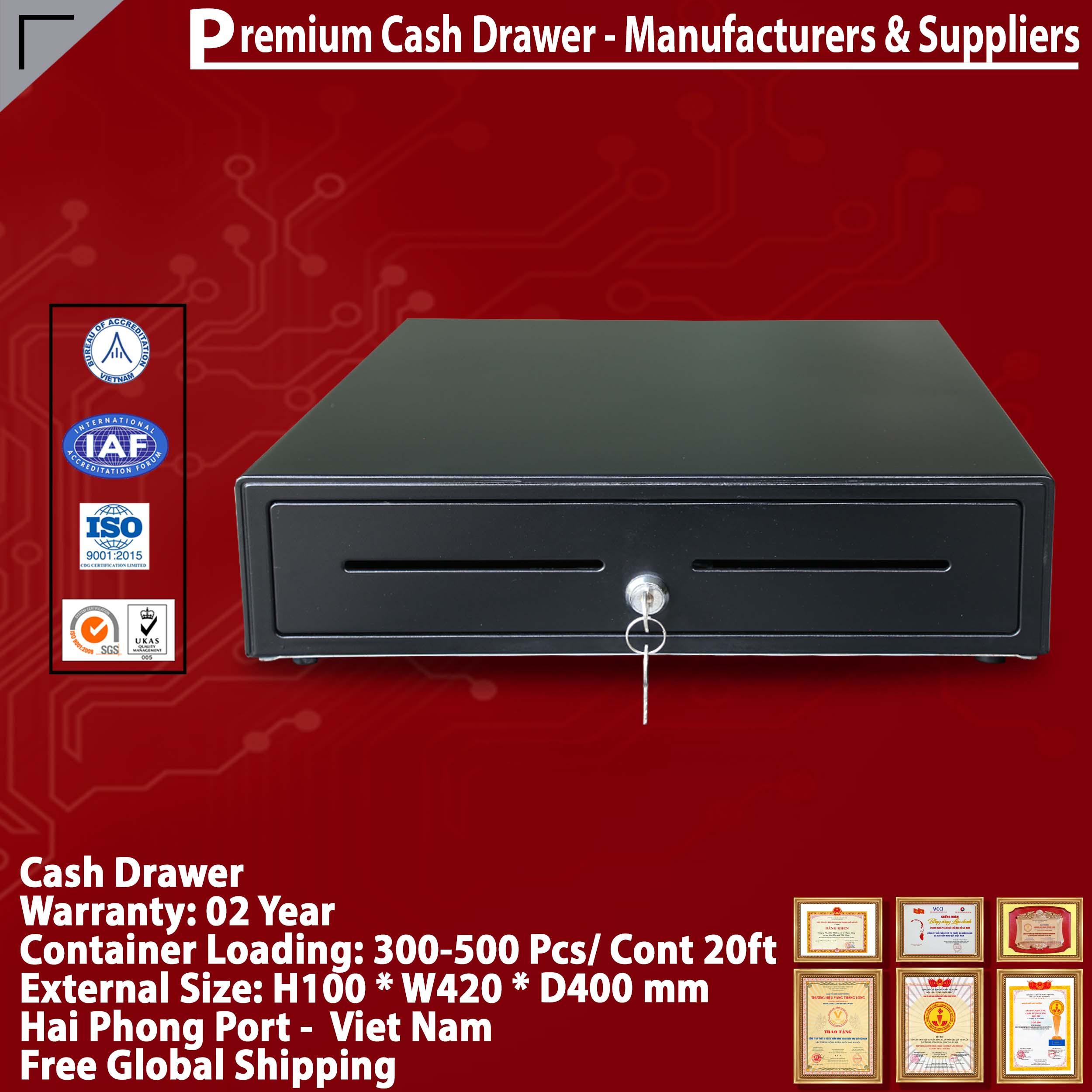 Ngăn kéo đựng tiền Cash drawer 10 ngăn