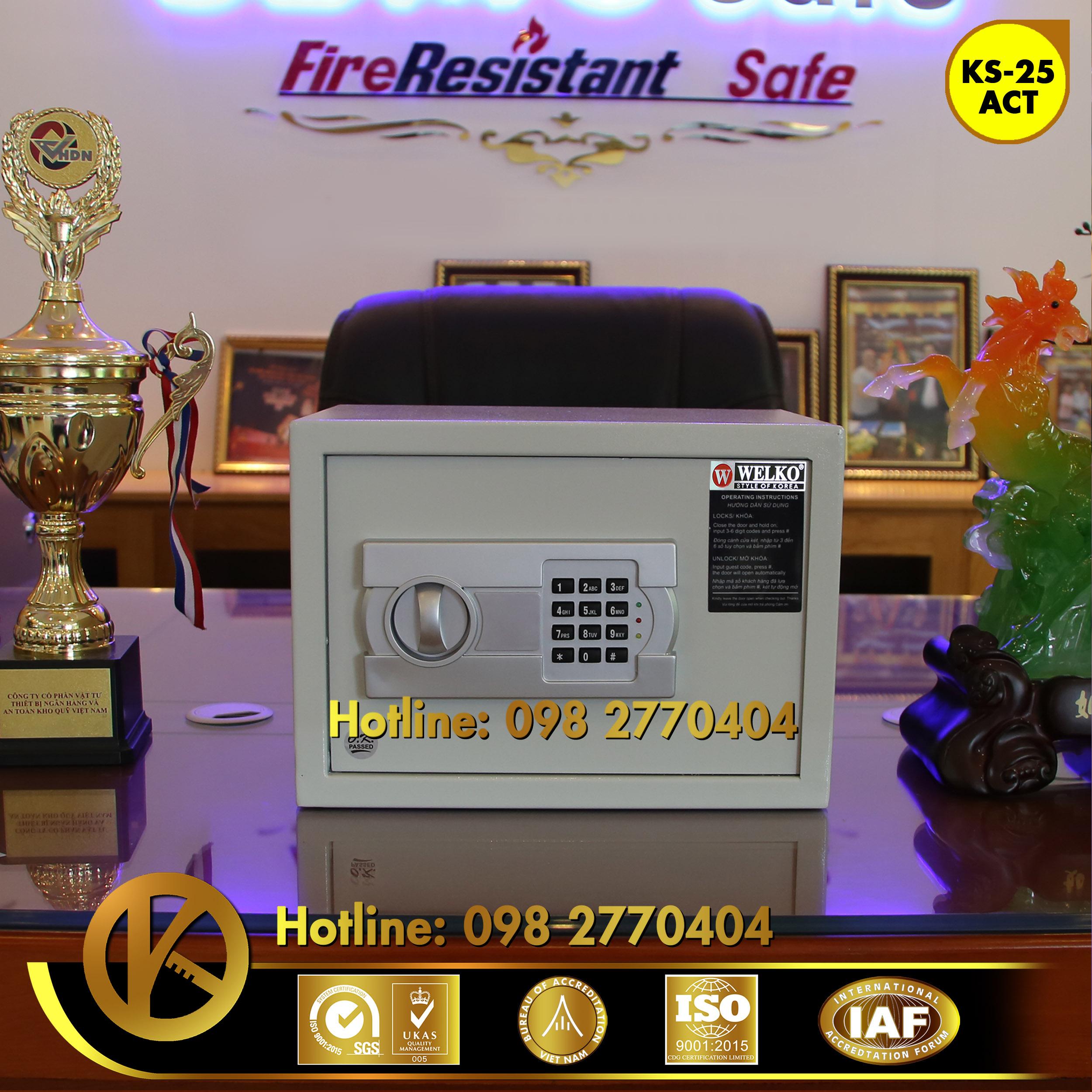 nhà cung cấp két sắt khách sạn WELKO Hotel Safe Phan Thiết