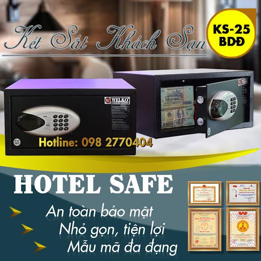 két sắt khách sạn hs25 bdd giá rẻ