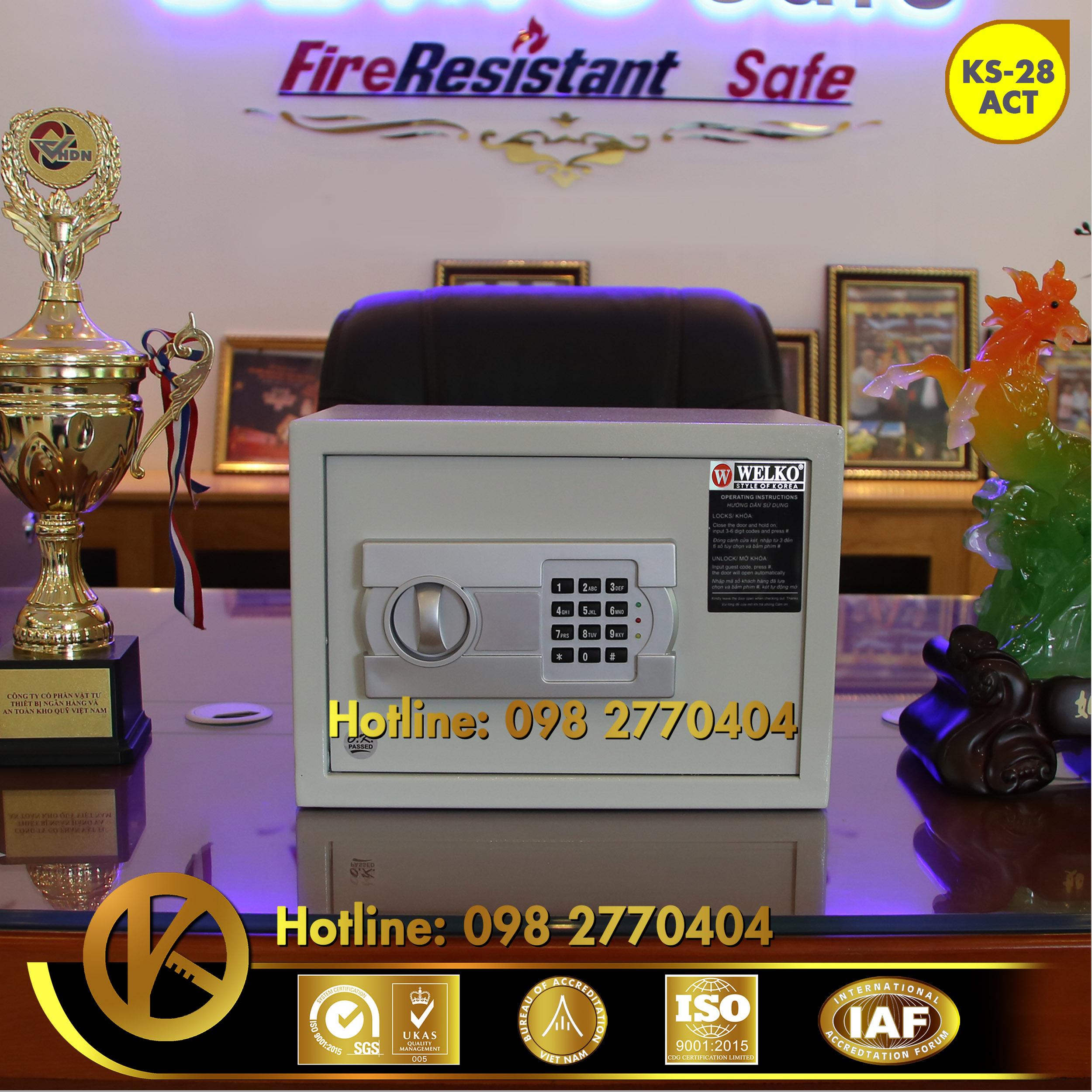 nhà cung cấp két sắt khách sạn căn hộ Condotel Hội An WELKO Hotel Safe