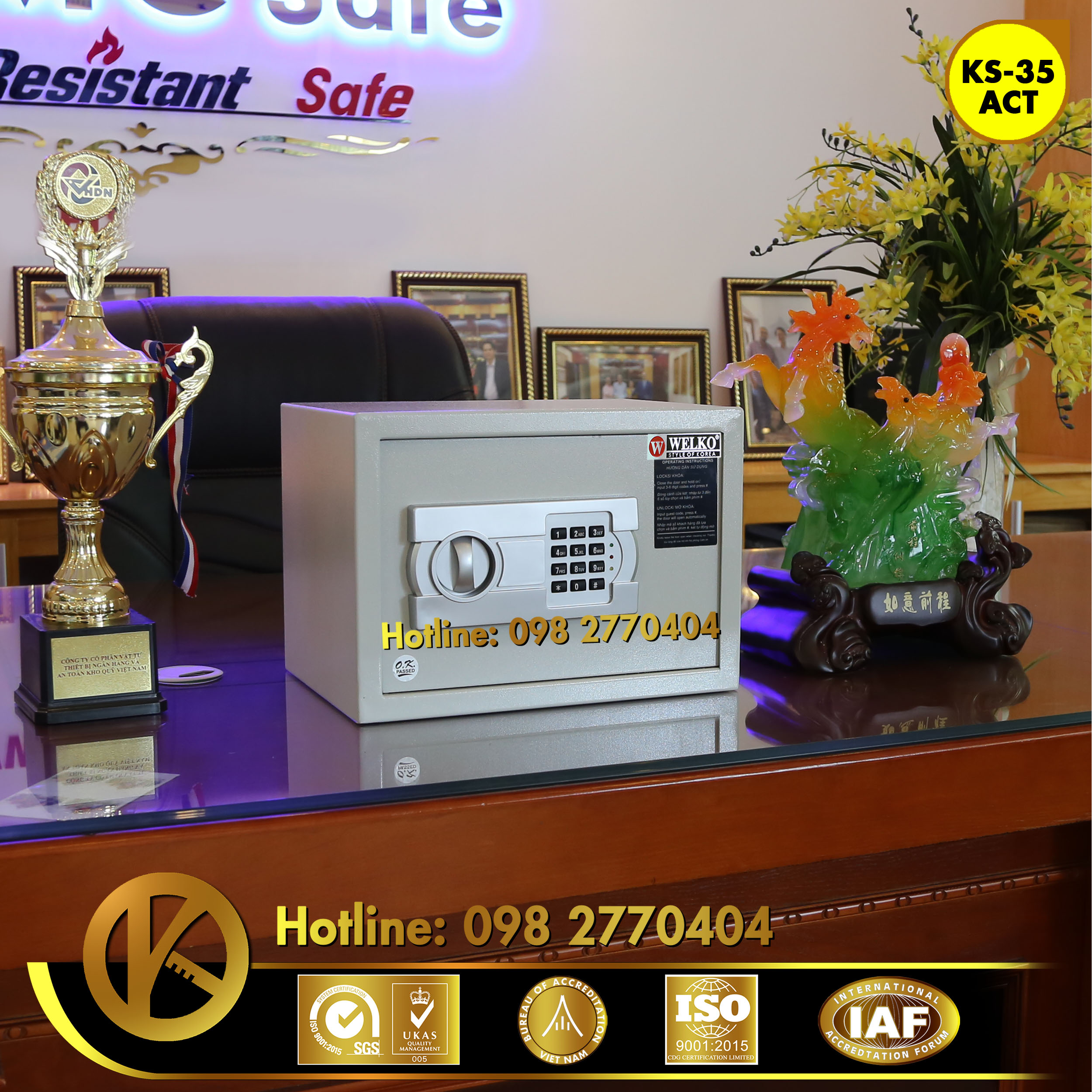 cửa hàng bán Ket Sat Khach San Hotel Safe Tinh Binh Thuan